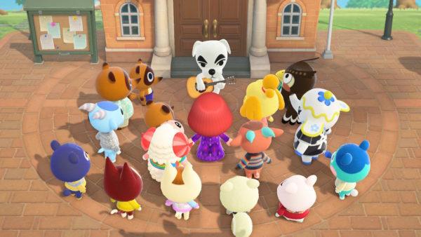 あつ森 © 2020 Nintendo